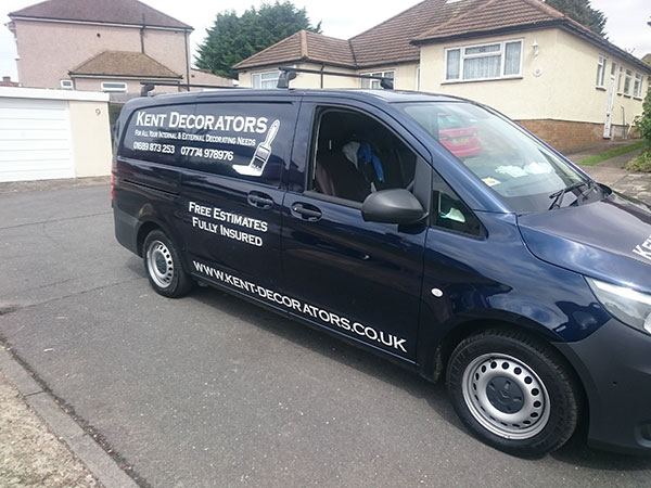 Kent Decorators Van