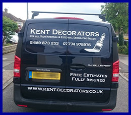 Kent Decorators Contact Us